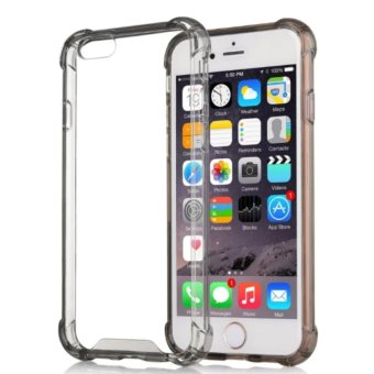 Shock-proof Back Case for iPhone 7/7s (black clear)