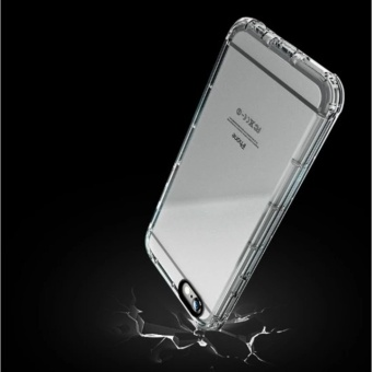 Shock Proof Silicon Case For iPhone 6G/6S (transparent) - 4