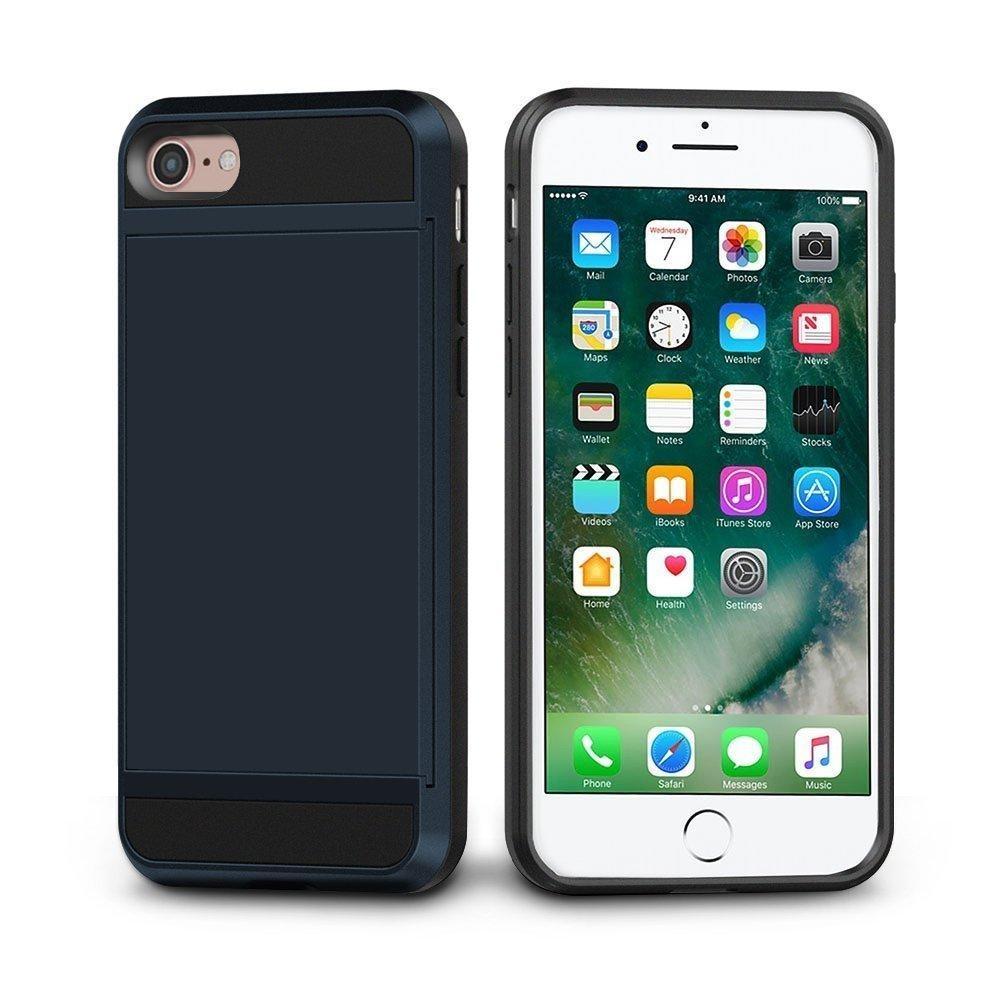 Philippines | Shockproof iPhone 7 Wallet Case Sliding Card Holder
