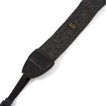 Shoulder Neck Strap For Nikon SLR Cameras (Charcoal Grey) - intl - 3
