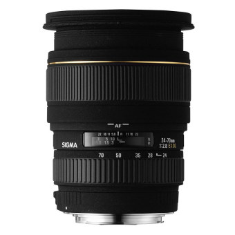 Sigma 24-70mm f/2.8 f2.8 IF EX DG HSM for Canon Black - picture 2