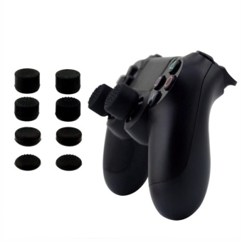 Silicone Controller Analog Grips Thumbstick Cover For PS4/PS3 ThumbGrip For Sony Playstation 4 Game Accessories Replacement - intl