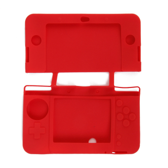 Silicone Protective Case for New Nintendo 3DS Red