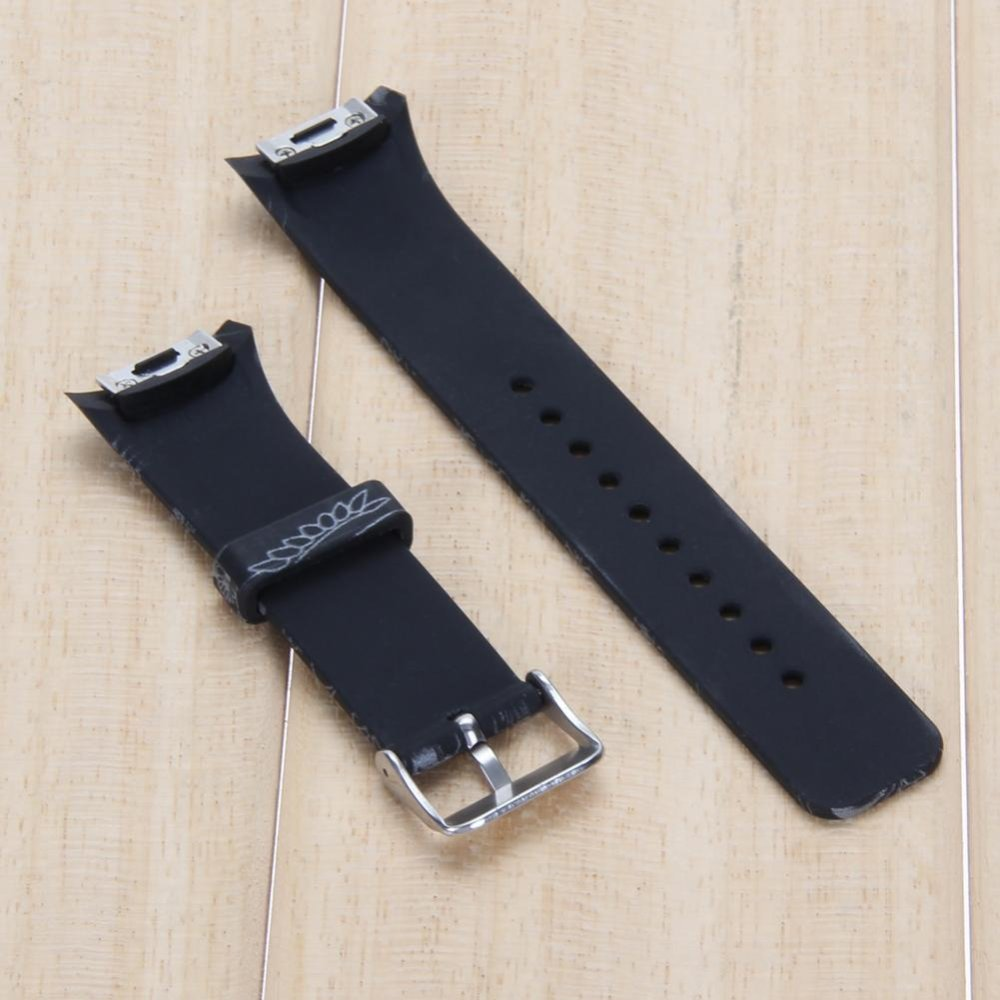 ... Silicone Watch Band Strap For Samsung Galaxy Gear S2 SM-R720(Black)- ...