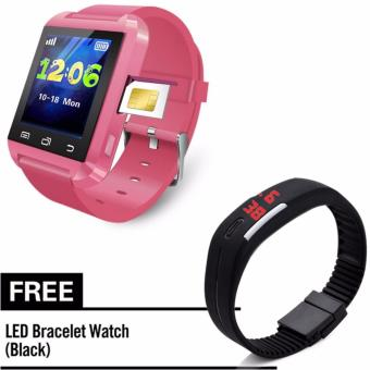 sim smartwatch phone with Free LED Watch Price Philippines