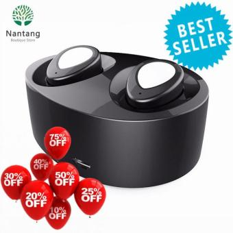 ***Singapore Limited Offer*** Hot Sale Wireless Bluetooth V4.1 Earbud(White+Red)