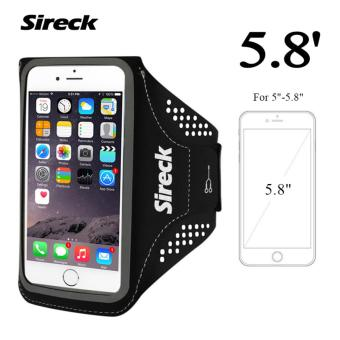 Sireck 5.8 Inches Armband Outdoor Running Arm Bag Arm Pouch Arms Package Jogging Gym Multifunction Mobile Phone Armband Waterproof Case Cover Holder 4 Colors - intl