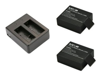 SJCAM Dual Battery Charger (Black) with SJCAM Battery forSJ4000/SJ5000/M10 Set of 2 Price Philippines