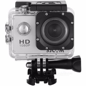 SJCAM SJ4000 2.0 Display Screen 12MP Full HD 1080P Waterproof BasicAction/Sports Camera (Silver)
