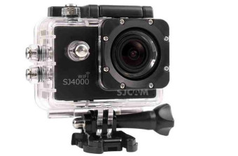 SJCAM SJ4000 WiFi 12 MP Action Camera Sport DVR (Black)