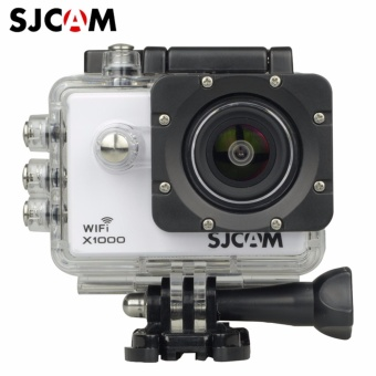 SJCAM X1000 WiFi 2.0 1080p H.264 Action Camera (White)