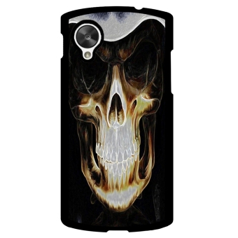 Skull Pattern Phone Case for LG Nexus 5 (Multicolor)