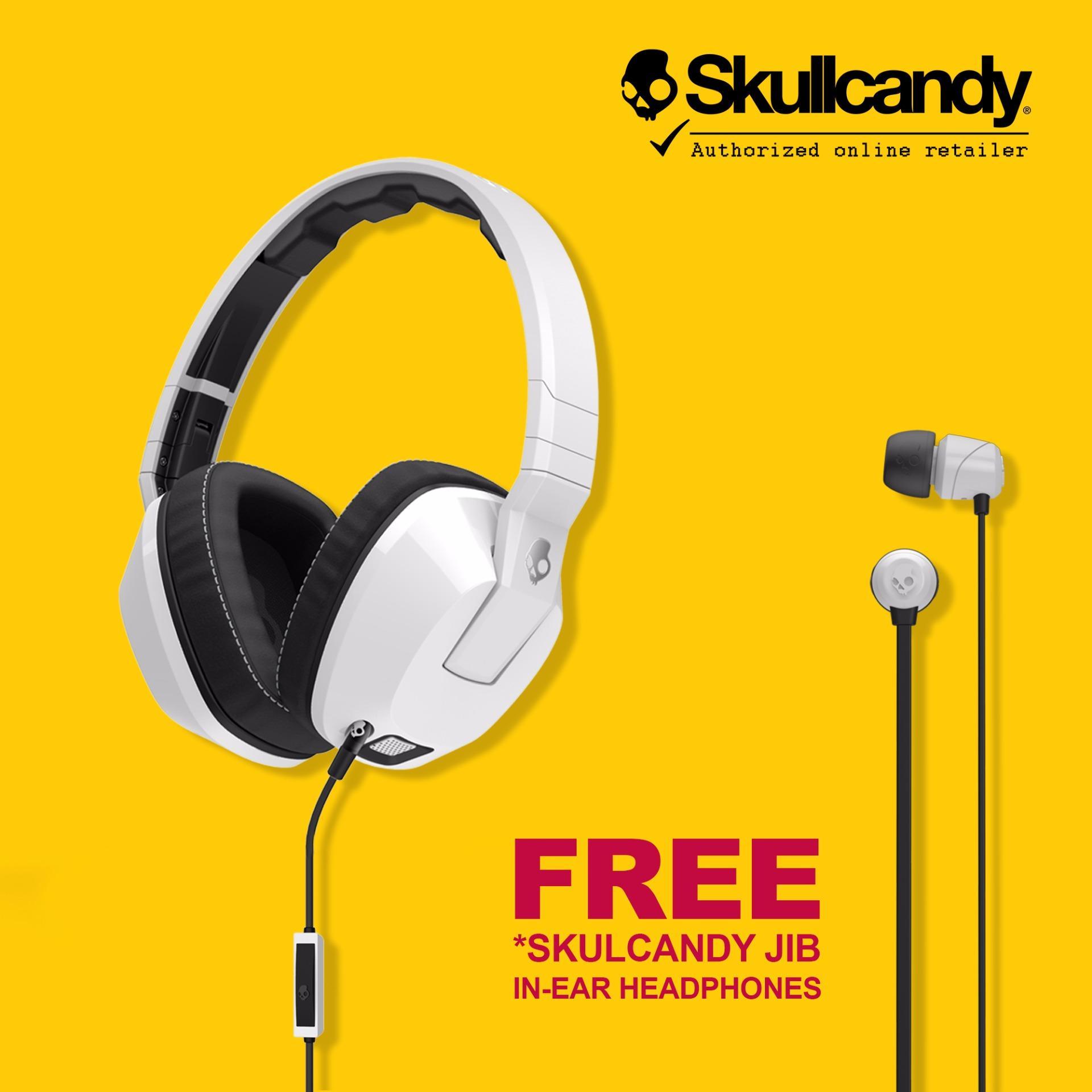 Skullcandy Crusher S6SCFZ-072 Over the Ear Headphones with FREESkullcandy S2DUDZ-