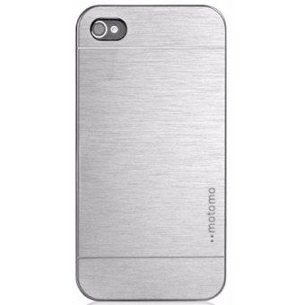 Sleek Metal Case for Apple iPhone 6 (Silver)