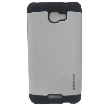 Slim Armor TPU/PC Case For Alcatel Flash Plus 2 (White)