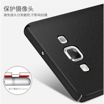 Slim Fit Shell Hard Full Protective Anti-Scratch Resistant CoverCase for Samsung Galaxy A5/A5 2015(Black) - intl - 4