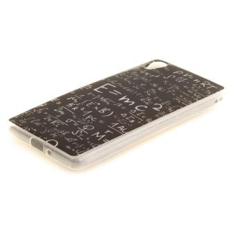 Slim Fit Soft TPU Phone Back Cover For Sony Xperia X (MathFormulas .