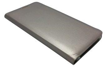 Slim Flip Cover for Samsung Galaxy S6 Edge (Gold)