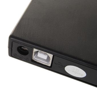 Slim Portable USB 2.0 External Optical CD-ROM Drive - intl - 3