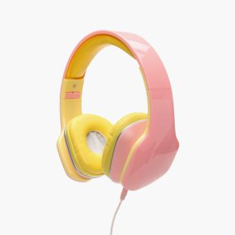 SM Accessories Girls Stereo Music Headphones (Pink)