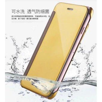 Smart Sleep Mirror Flip Case Cover For Hua wei mate 9(black) - intl - 3