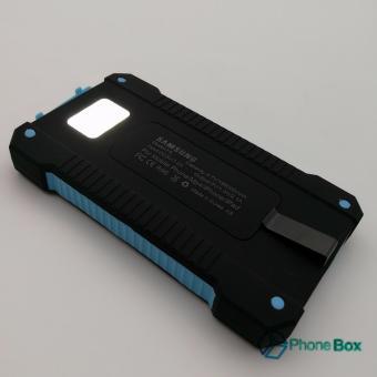 Smart USB Backup Power Solar Power Box 198000 (blue) - 3