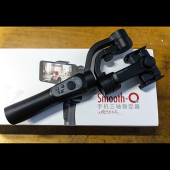Smooth Q Handheld Gimbal Stabilizer ZHIYUN with Free USB Fan