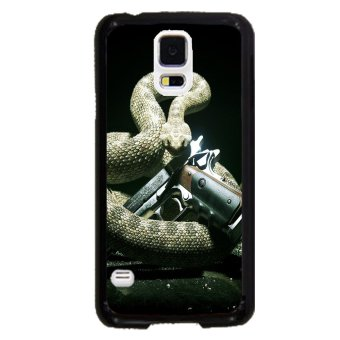 Snake Print Pattern Phone Case for Samsung Galaxy S5 (Multicolor)