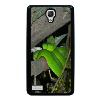 Snake Print Pattern Phone Case for Xiaomi Redmi Note (Black)