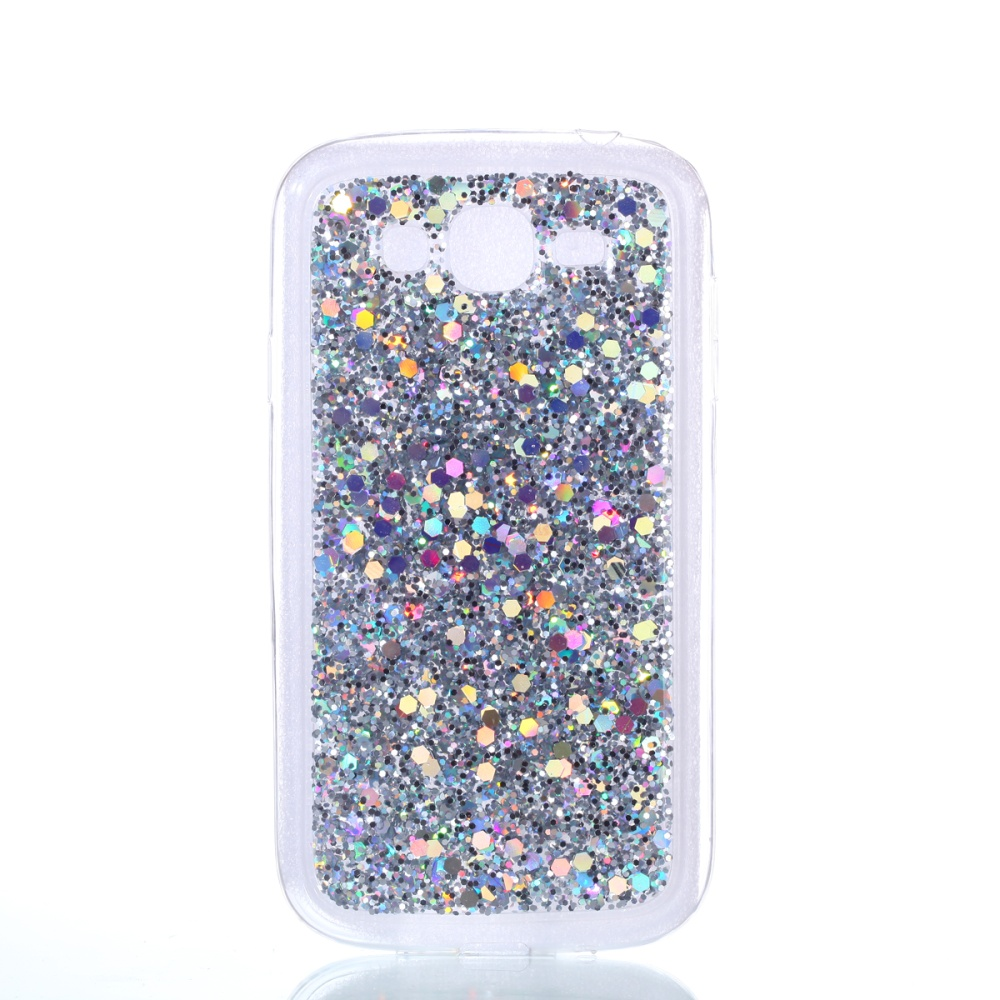 ... Soft Case for Samsung Galaxy Grand / Grand Duos Bling Glitter CaseDynamic Quicksand Protective Cover Case ...