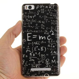 Soft Fit TPU Phone Back Cover For Xiaomi Mi 4i 4C (Math Formulas) -intl - 2