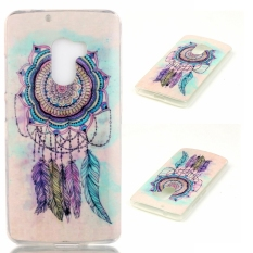 Soft IMD TPU Feather Dream Catcher Case Shell for Lenovo A7010 / Vibe X3 Lite /
