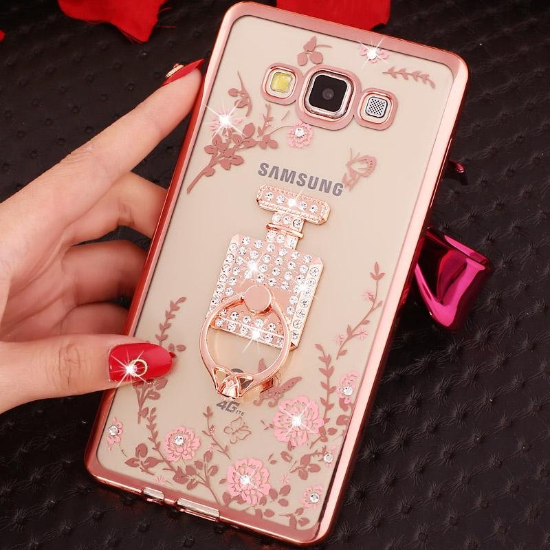 ... Soft Phonecase Lady Mobile Phone Case Cover Casing For SamsungGalaxy A8 2015 With Ring Holder ...