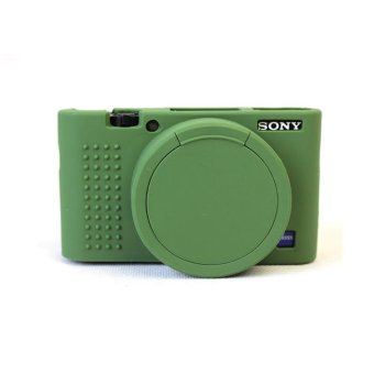 Soft Silicone Gel Rubber Camera Case Cover for SonyRX100/M3/M4/M5(Green) - intl Price Philippines