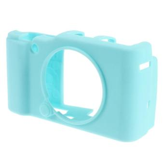Soft Silicone Protector Cover for FUJIFILM X-A2/X-A1/X-M1 - Blue - intl Price Philippines