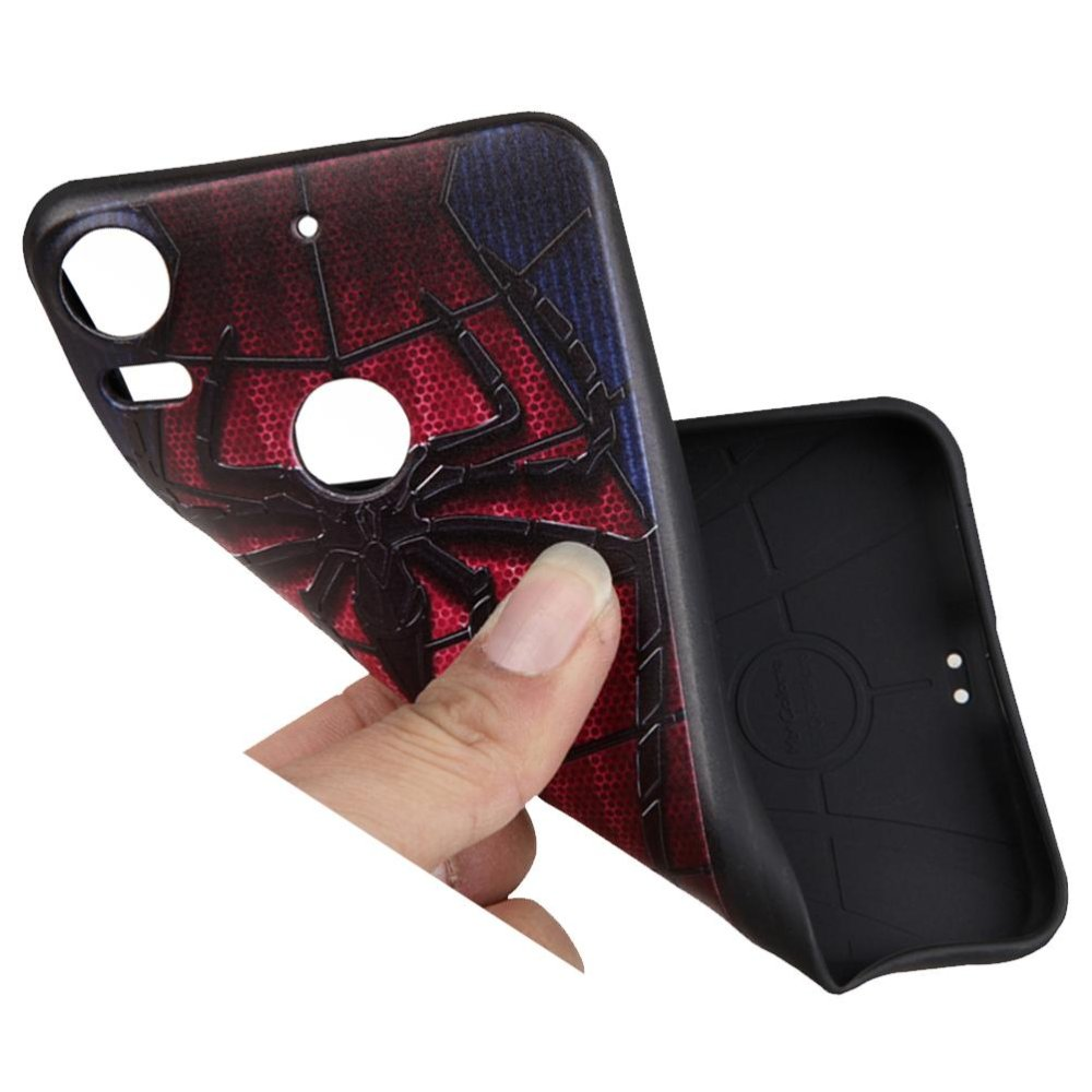 Soft TPU Case For HTC Desire 10 Pro Gentleman style 3D EmbossedPainting Series Protective Cover .