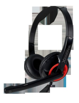 Sonic Gear Xenon 2 Music Personal Audio Headset (Fashion Red)