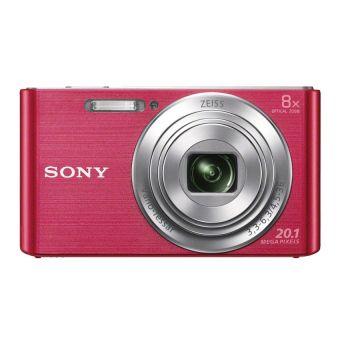Sony 20.1MP 8x Optical Zoom DSCW830P Digital Camera (Pink)