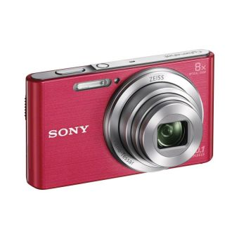 Sony 20.1MP 8x Optical Zoom DSCW830P Digital Camera (Pink) - picture 2