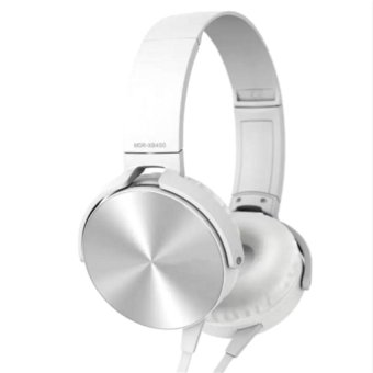 Sony MDR-XB450AP Extra Bass Smartphone Headset (White)