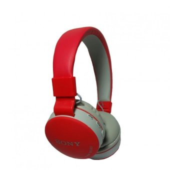 Sony MS-881 108dB Bluetooth Headphones (Red)