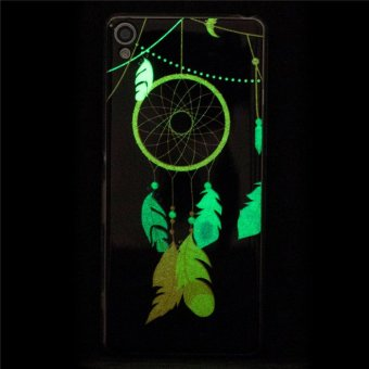 Sony Xperia XA Case, Beautiful Pattern Luminous Fluorescent GlowUltra Thin Soft TPU Gel Silicone Back Case Cover for Sony Xperia XA(Design-2) - intl - 4