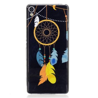 Sony Xperia XA Case, Beautiful Pattern Luminous Fluorescent GlowUltra Thin Soft TPU Gel Silicone Back Case Cover for Sony Xperia XA(Design-2) - intl - 5