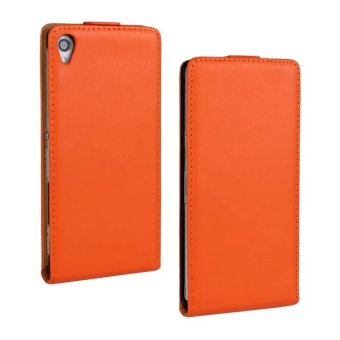 Sony Z3/l55t leather up and down flip phone protective case