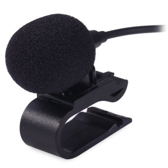 Special Car Audio Microphone 3.5mm Jack Plug Stereo Mic Mini WiredExternal Car Microphone For Auto DVD 3meters long - intl Price Philippines