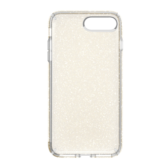 Speck Presidio Clear + Glitter Phone Case for iP7 Plus (GoldGlitter/Clear)