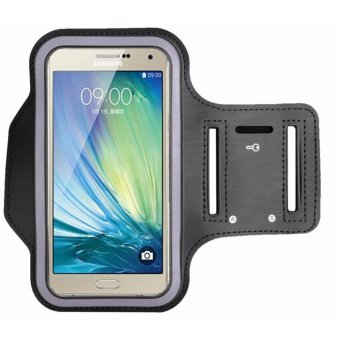 Sports Neoprene Gym Armband Cover for Samsung Galaxy S8 (Black) Price Philippines