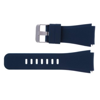 Sports Silicone Bracelet Strap Band For Samsung Gear S3 Watch(Blue) - intl - 3