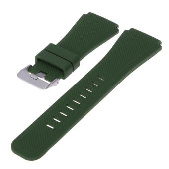Sports Silicone Bracelet Strap Band For Samsung Gear S3 Watch(Green) - intl