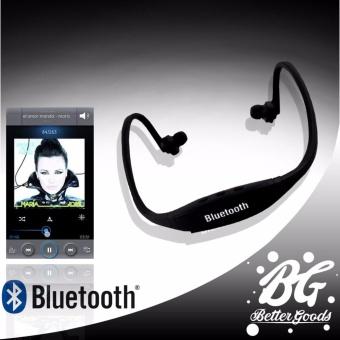 Sports Stereo Bluetooth Headphone With Mic (Black)